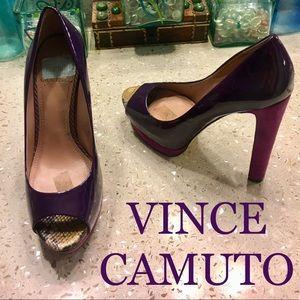 Vince Camuto platform heels 8